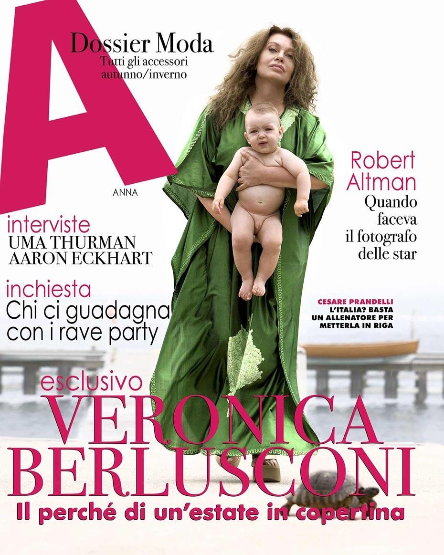 Veronica Lario - A Magazine - by Enrico Labriola