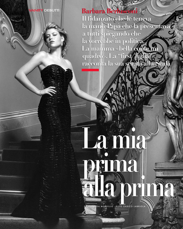 Barbara Berlusconi - Vanity Fair - by Enrico Labriola