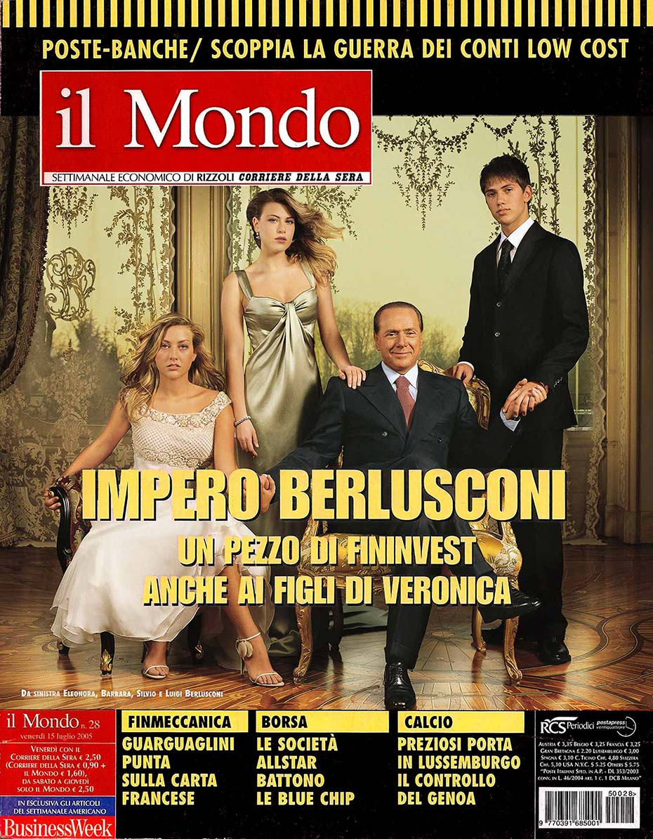 The Berlusconi - Il Mondo - by Enrico Labriola