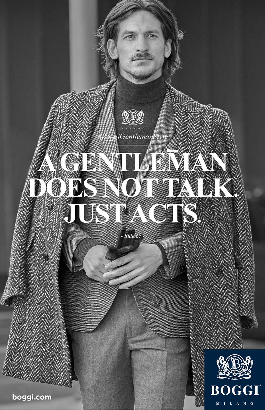 Boggi FW 17/18 - #BoggiGentlemanStyle - by Enrico Labriola