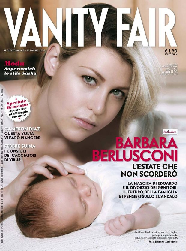 Barbara Berlusconi - Vanity Fair - by Enrico Labriola